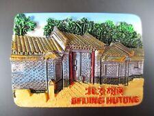 Beijing Hutong Wohnviertel China Fridge Poly Imán Recuerdo Beijing ,( 78)