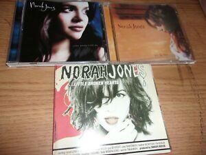 CD NORAH JONES LOT OF 3