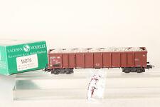 Sachsen Modell H0 16076 offener Güterwagen Eanos DB mit Schotter beladen  150854