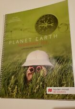 Texas A&M Department Of Geography Planet Earth Geography 213 spiral bound good