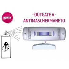 Sensore Infrarossi a tenda da esterno BIANCO doppia tecnologia ANTIMASCHERAMENTO