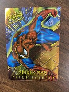 SPIDER-MAN 1995 Fleer Ultra Spiderman Masterpieces Limited Edition Card #6