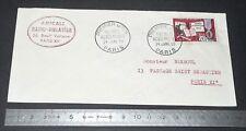 ENVELOPPE 1er JOUR EMISSION 24-01-1959 PALMES ACADEMIQUES 20 F