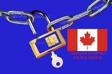 Rogers Fido Blackberry Unlock Code BB10 Q5 Q10 Z10 Z30 Passport Priv