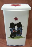 HP AMISH TRASH CAN/LAUNDRY HAMPER/NEW BY  MB! L@@K!!
