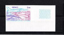 timbre France non dentelée  poste aérienne salon aéronautique espace   num: 54 a