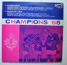 CHAMPIONS '65 winners of 1965 Harmony International Comp LP record Jupiter