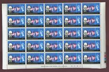 MONTSERRAT 1965 CHURCHILL 1c COMPLETE SHEET 50 stamps