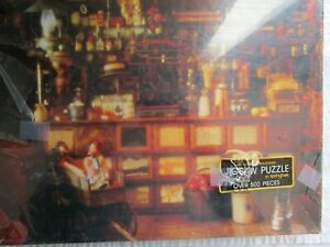 Vintage Jigsaw Puzzle~SPRINGBOK~The Country Store~500 Piece Jigsaw torn plastic