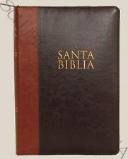 Biblia Letra Super Gigante Duo Tono Vino/Cafe con Cierre