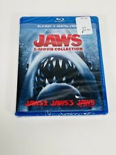 New Sealed Jaws 3 Movie Blu-Ray + Digital Collection Set No Slip Cover