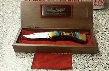 Buck David Yellowhorse  112 Custom MUSTANG PONY Knife Mint Case BRONCO BEAUTIFUL