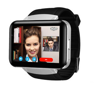 Large Screen 3G WiFi Bluetooth Smart Watch Android GPS Camera Video Chat