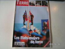 ** Terre Magazine n°149 Les Etats Majors de Force / 420e DIM / Armée Fr au Liban