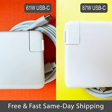 """New 61W / 87W Charger For MacBook Air Pro 13"""" 15"""" USB-C Type C Power Adapter"""