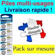 Camelion CR2025 3V Pile Bouton Lithium - Pack de 5