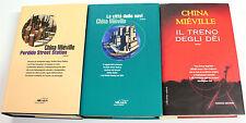 China Mieville SERIE DI BAS-LAG TRILOGIA COMPLETA 2000-2004 Fanucci Solaria RARA