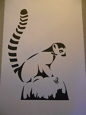 Schablone Lemur auf A4