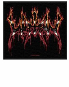 WATAIN - FLAMING LOGO - WOVEN PATCH - BRAND NEW - MUSIC BAND 3127