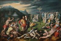 """high quality oil painting  handpainted on canvas """"Moses and the Brazen Serpent """""""