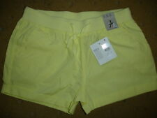 BNWT Ladies' Atmosphere Yellow Shorts, Size 8, wi side & back pockets