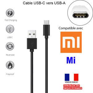 CABLE SYNC CHARGEUR USB-C (TYPE C) 3.1 VERS USB POUR XIAOMI MI 10T NOTE 10 MI9