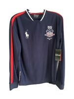 L@@K NWT MSRP $135 Polo SPORT Ralph Lauren Performance USA Rugby Soccer  Sz S