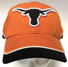 Texas Longhorns NCAA Ball Cap Hat Black Orange White Adjustable One Size New Era