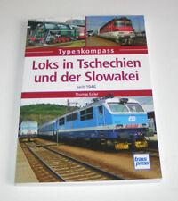 Loks in Tschechien und der Slowakei - CSD, CD/CDC, ZSSK/ZSCS -  seit 1946 !