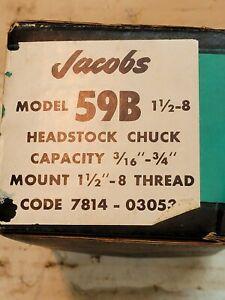 Jacobs 59B Headstock chuck