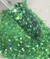 glitter mix nail art acrylic gel     SPRING BUBBLES  limited edition