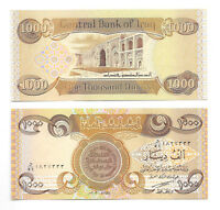 5,000 New Iraqi Dinar  (5 X 1,000)  New Uncirculated