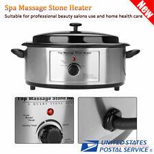 6 Quart Hot Massage Stone Heater Spa Salon Warmer Device Heating Device Us Stock
