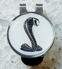 anneys ~ GOLF  BALL  MARKER plus hat clip - * cobra - white * ~