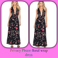 🌺PRIVACY PLEASE Floral Wrap Dress PETITES RARE $350(SP) Reformation Lulu's