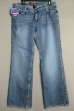 FLORUCCI DENIM JEANS_NWT_WOMEN SZ 13_DISTRESSED LOOK_EMBROIDERY__SHIPS FREE