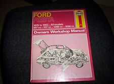 Haynes Workshop Manual 334 - Ford  Fiesta 1976 to 1983 All models Hardback