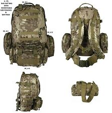 4PC Highland Desert Backpack Bug Out Bag/Tactical/Military/Survival Gear/DayPack