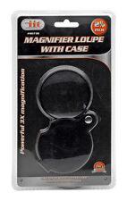 """2.5"""" Magnifier 3X Loupe w/ Case"""