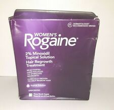 NEW Women's Rogaine Topical Solution Hair Regrowth Treatment 3 Month 10/2024