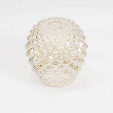"där Lighting "" Mosaic "" Lampshade Umbrella Glass E27 Frame; 20cm high; Gold"