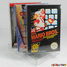 3 x Game Box Protectors for NES ULTRA STRONG 0.5mm PET Plastic Nintendo