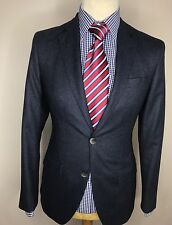 NEW HACKET MAYFAIR LUXURY BESPOKE DESIGNER JACKET/BLAZER BLUE 38R