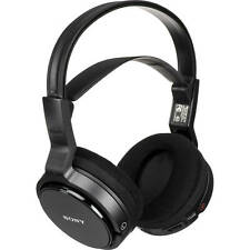 Sony Mdr-Rf912Rk Over-Ear Wireless Radio Frequency Stereo Tv Headphone System