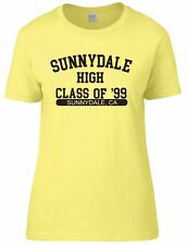 Sunnydale Buffy Womens Fitted Tee T-Shirt