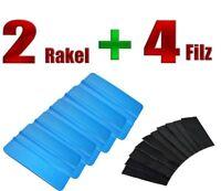 RAKEL BLAU 2 STÜCK + FILZ 4 STÜCK - Folierung - Carwrapping