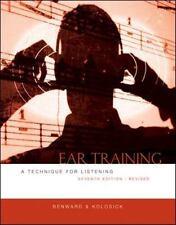 Ear Training, Revised by Bruce Benward, J. Timothy Kolosick