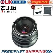 Uk 7artisans 25mm F1.8 Manual focus Lens Fr Micro Four Third M4/3 Mount Om-D Gh5