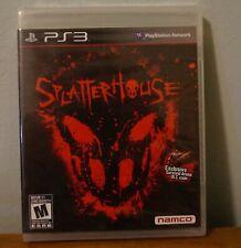 New! SplatterHouse (Sony PlayStation 3) US Retail Version! Sealed!