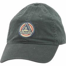 Kurtz AK510 Coated Band Cap Baseball Hat Ball OSFA Adjustable Vintage Mens A